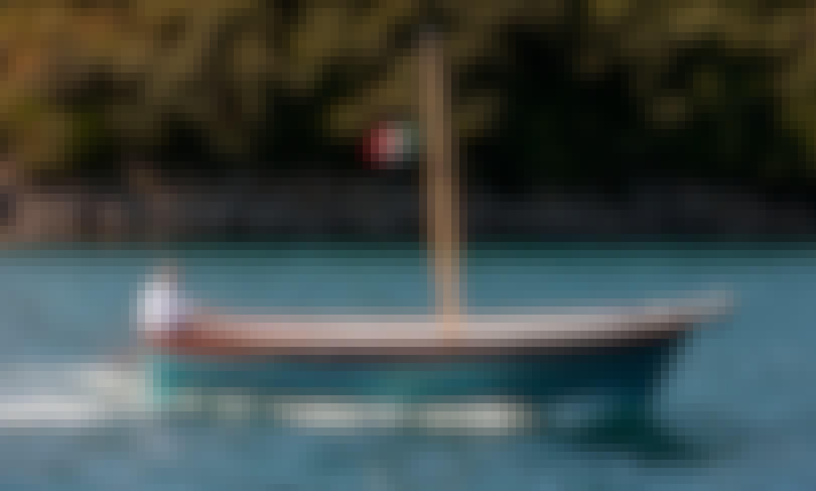 25' Open Cruise Gozzo Sorrentino Electric Boat Rental in Piano di Sorrento, Campania