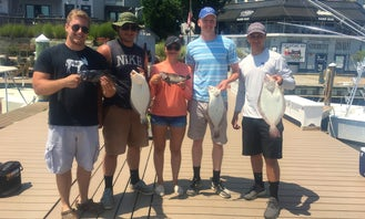 Fishing Adventure in Brielle, New Jersey 6 People