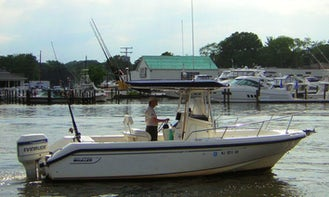 23' Boston Whaler for Charter in Brielle, NJ