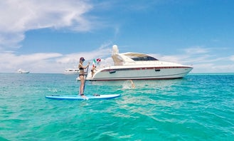 78' Leopard Power Mega Yacht Rental in Miami Beach, Florida