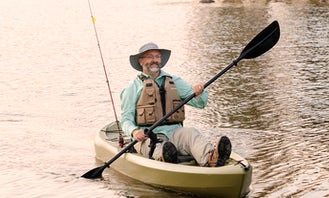 2020 Fishing or Leisure Kayak-hold up to three rods! $35 per day!