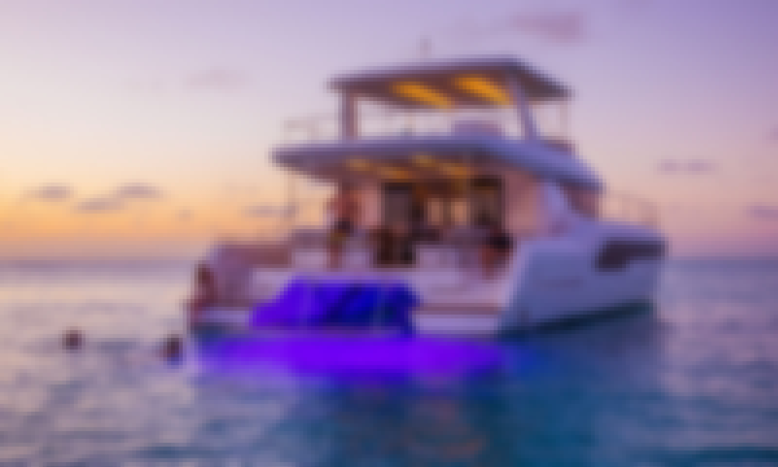 Enjoy Incredible Luxury Aboard This 2020 Leopard 53' Yacht in Miami Beach!
