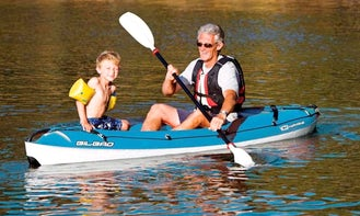 Single and Double Passenger BIC Kayaks For Rent!