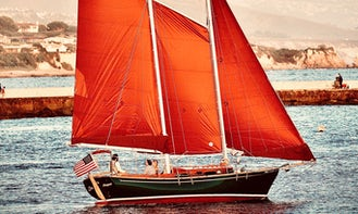 Private Cruises with Captain on 1976 Sailing Schooner in Avalon