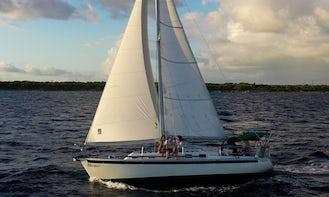 """""""Whisper"""" Sailboat Rental in Playa del Carmen, Quintana Roo"""