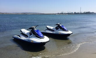 Pair of Yamaha Jet skis for rent in San Diego