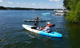 Kayaks For Rent on Lake Murray, SC