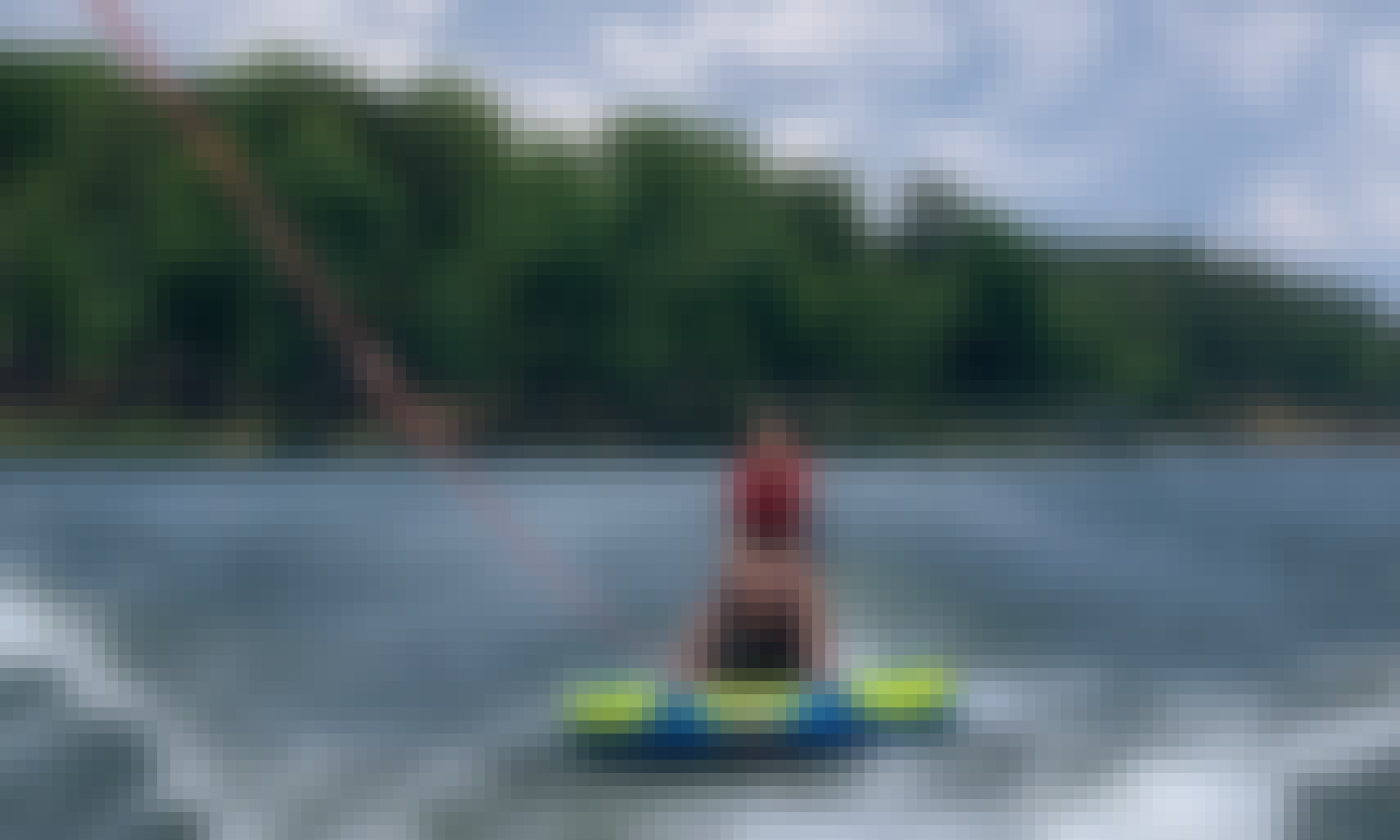 Regal 2100 Power Boat with Tower on Lake Oconee