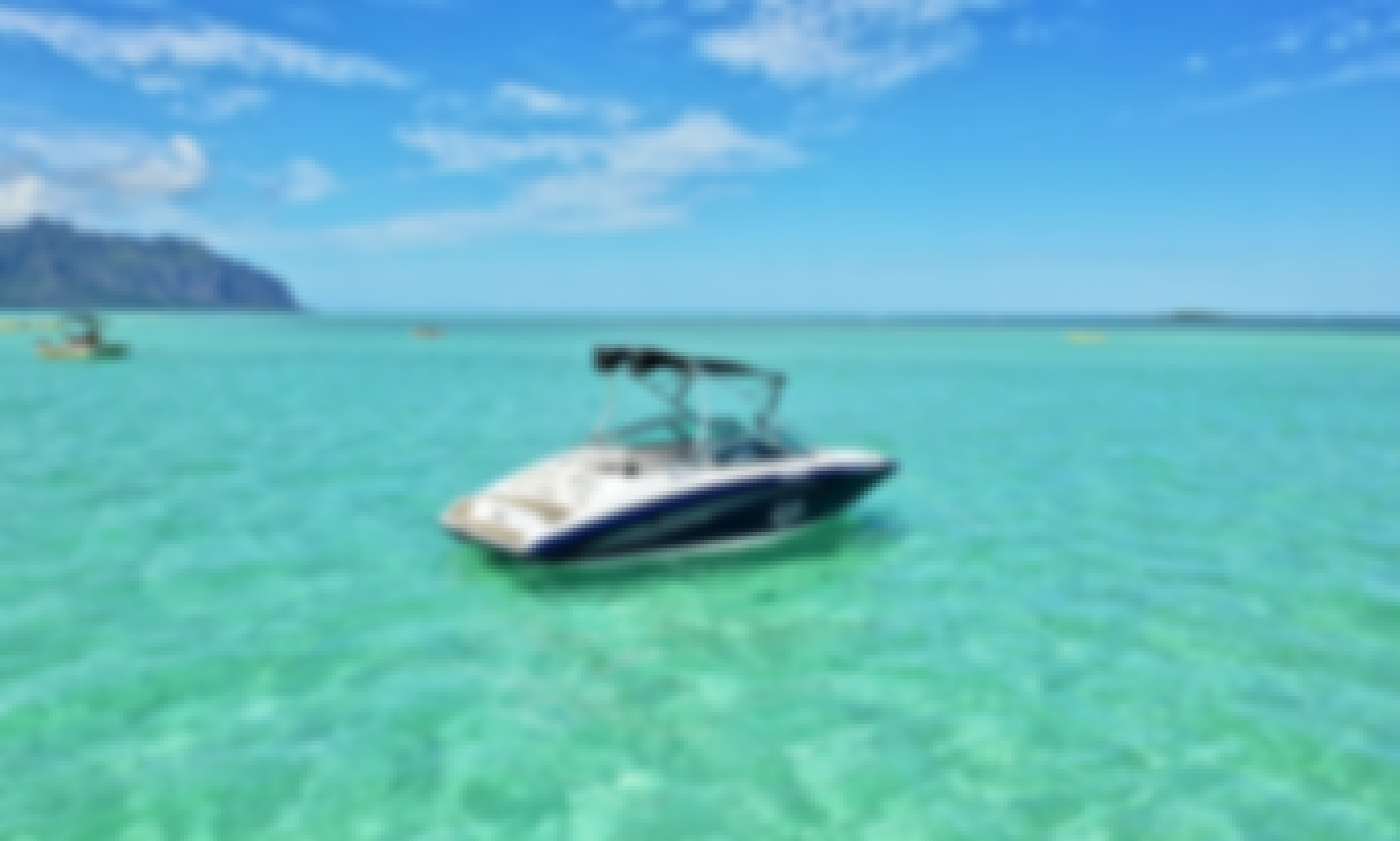 Legendary Sandbar with optional Watersports Adventure in Kaneohe Bay