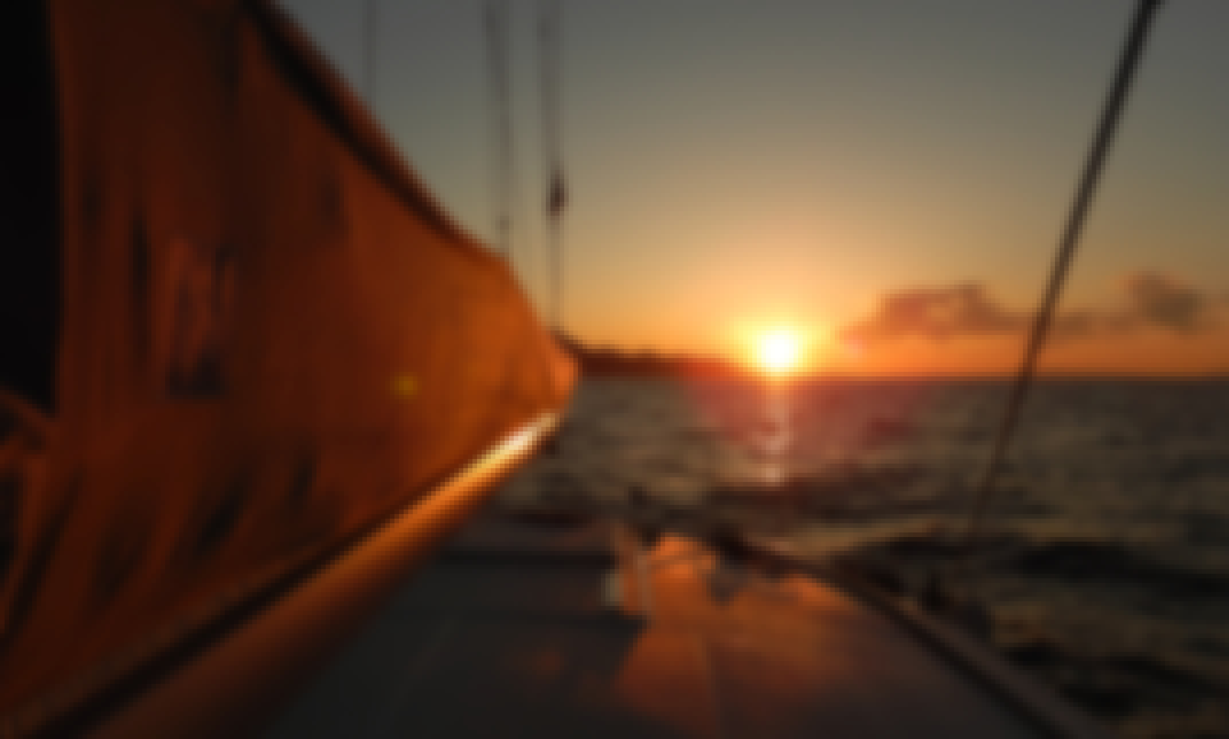 Nautitech 442s Sunset Sailing Trip