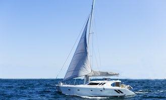 Bazaruto Archipelago - 50ft Luxury Sailing Catamaran