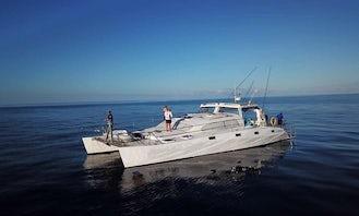 Quirimbas & St Lazarus Banks Fishing Charter on Catamaran 57ft'