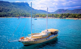 Charter 88' Beyzade Gulet with A.C in Turkey