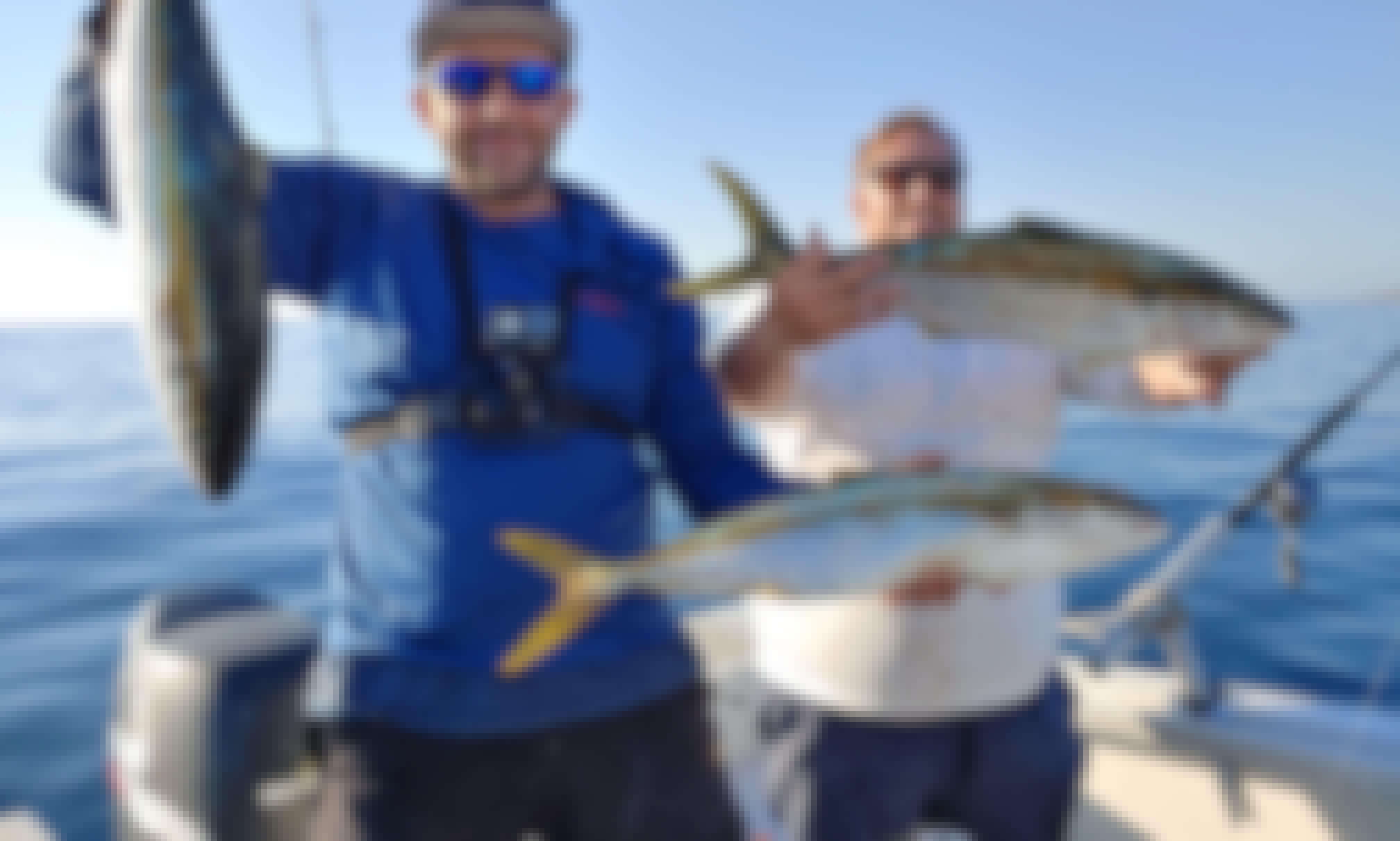 Fishing in La Jolla/ mission bay