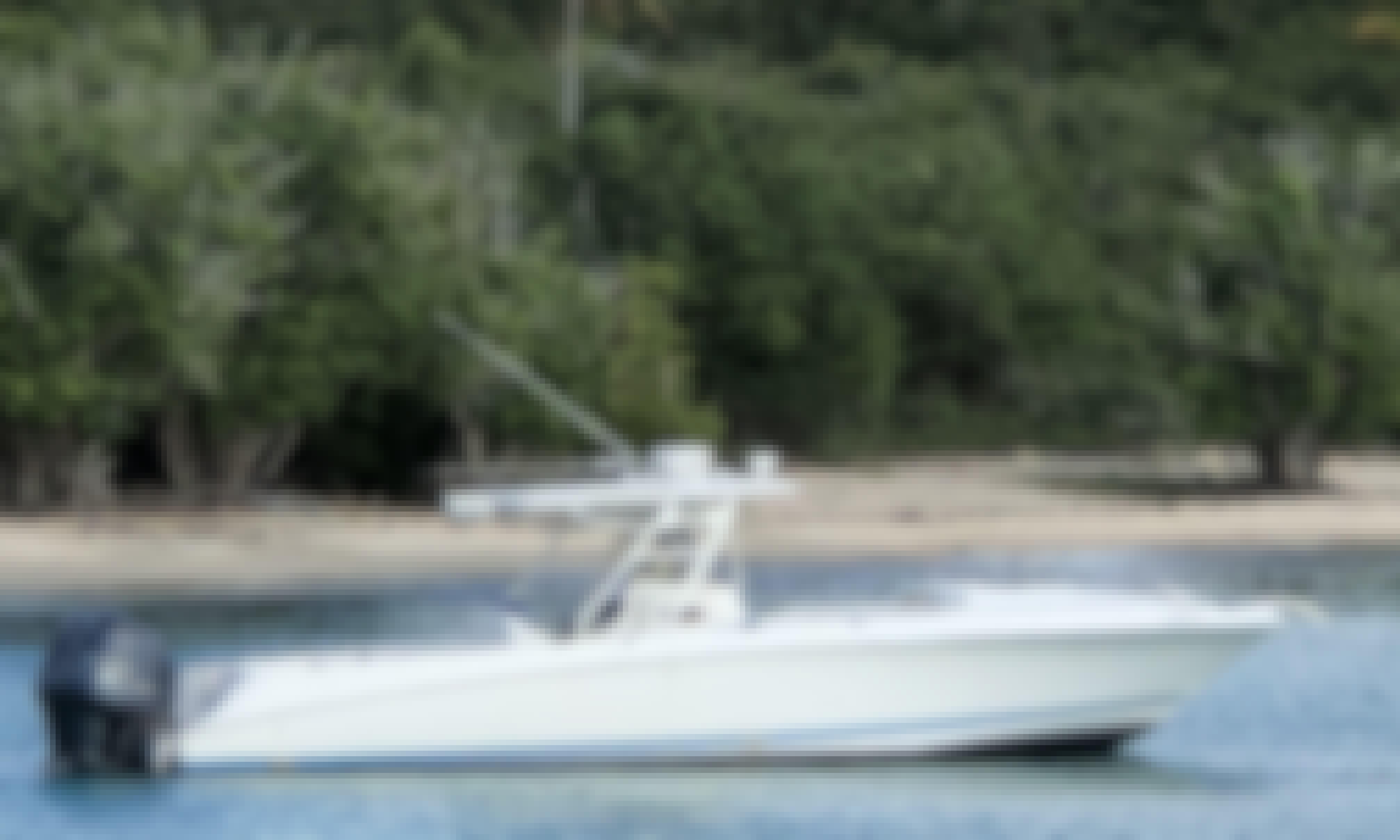 35' Wellcraft Scarab Boat Charter in Tortola, BVI