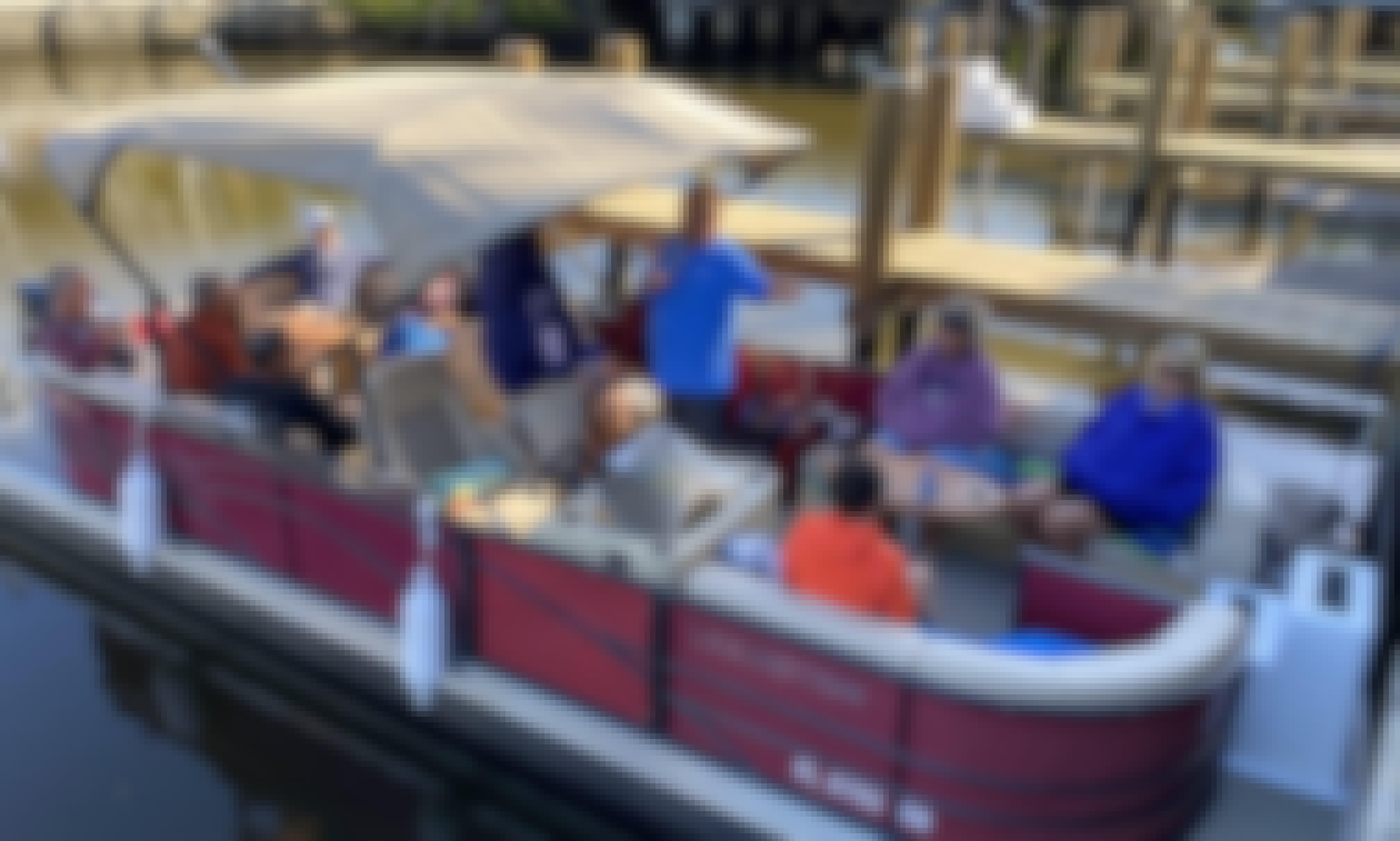 Premiere Lexington 25' Pontoon Boat Rental in Naples!