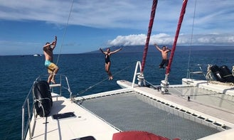 Sunreef 62 Sail Catamaran, Maui, Oahu, Big Island, Kauai, Lanai, Molokai
