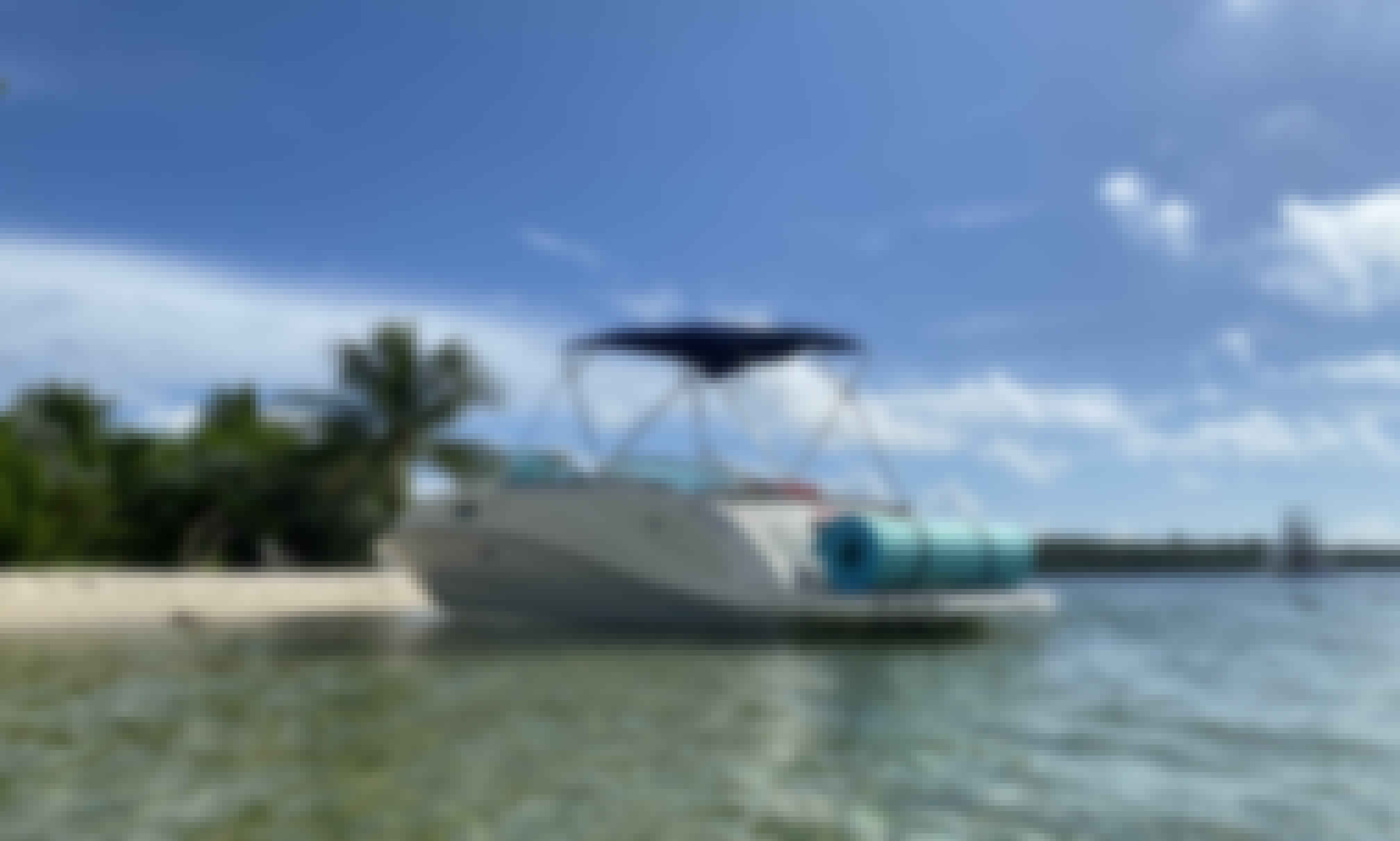 Very spacious, up to 11 people(NOT ADDED FEES)-Includes Certified Captain and Fuel-
