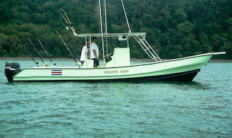 Have an Amazing Fishing in Jaco, Costa Rica on the 30' Center Console Charter for up to 5 Persons