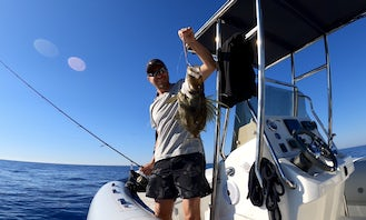 Full Day Fishing Tour on Marlin Dynamic Boat To Vis and Hvar Island from Split