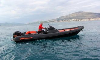 Luxury Lomac 9.5 Adrenalina for Rent in Split, Croatia