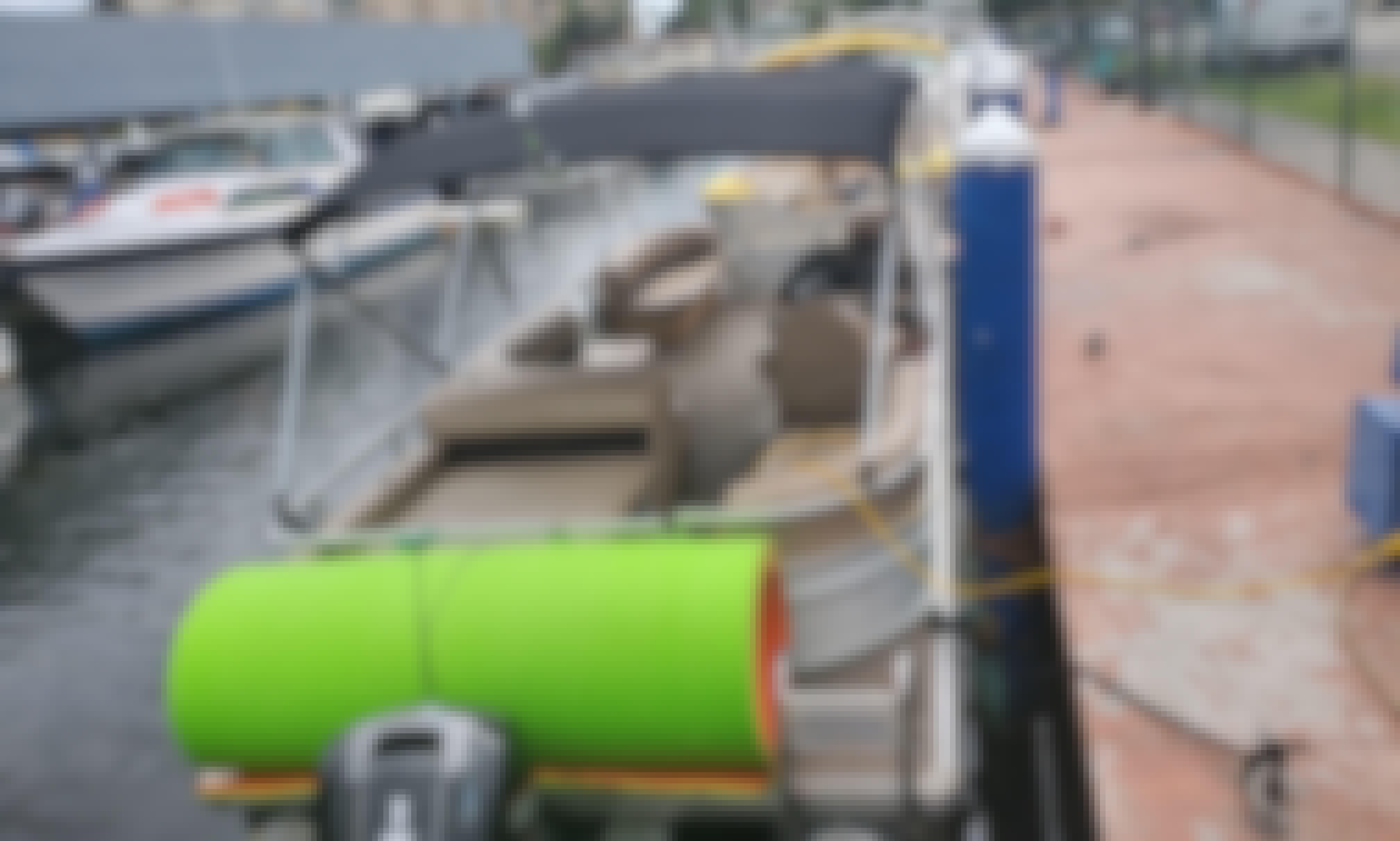 2018 Sea Water Pontoon Boat Rental in Sunny Isles Beach, Florida