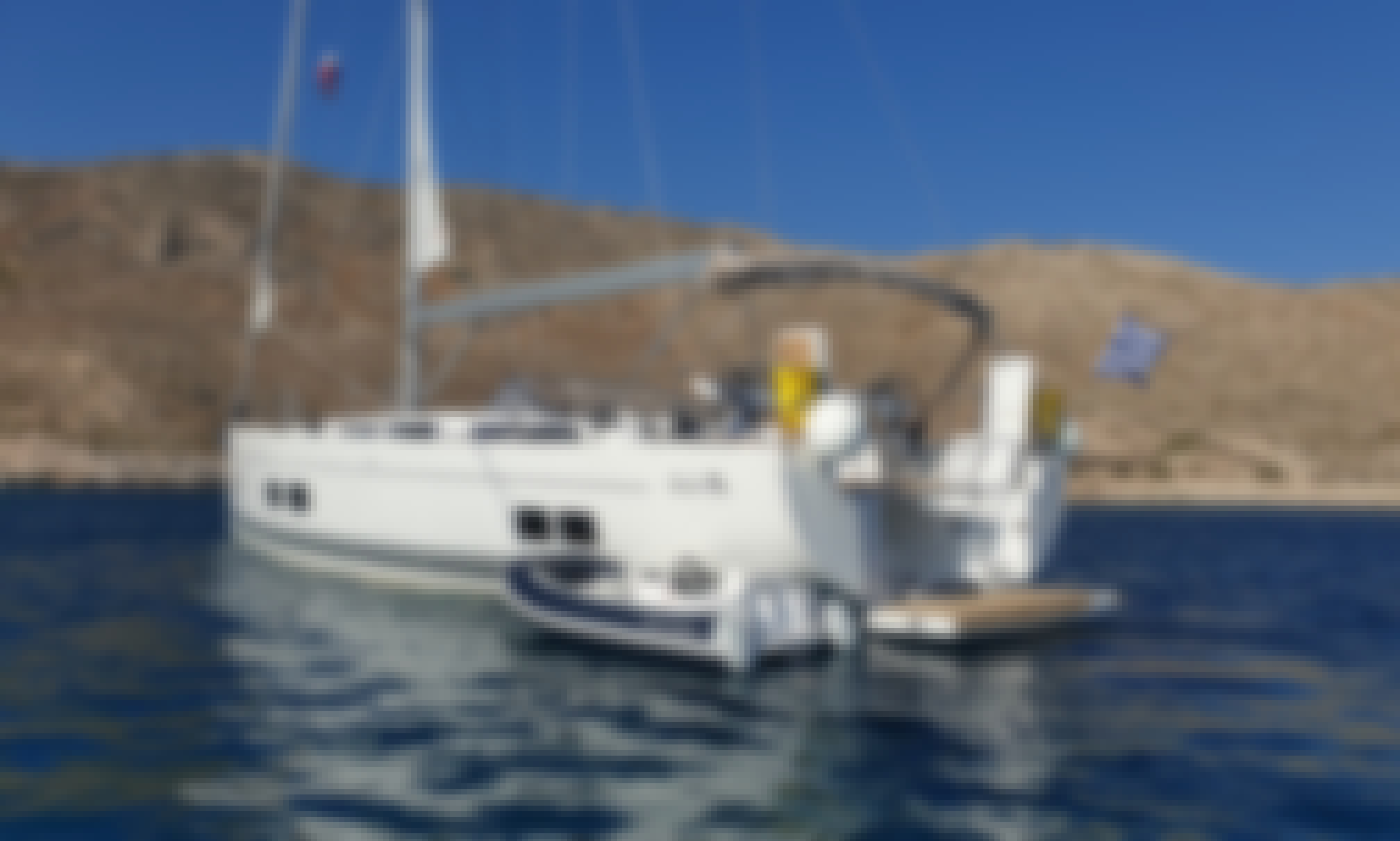 Hanse 588 Luxury Sailing Yacht in Beautiful Kos, Greece