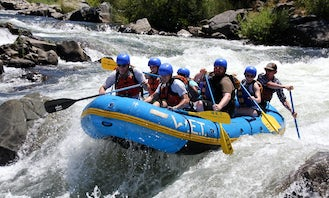 Whitewater River Rafting Trips In California