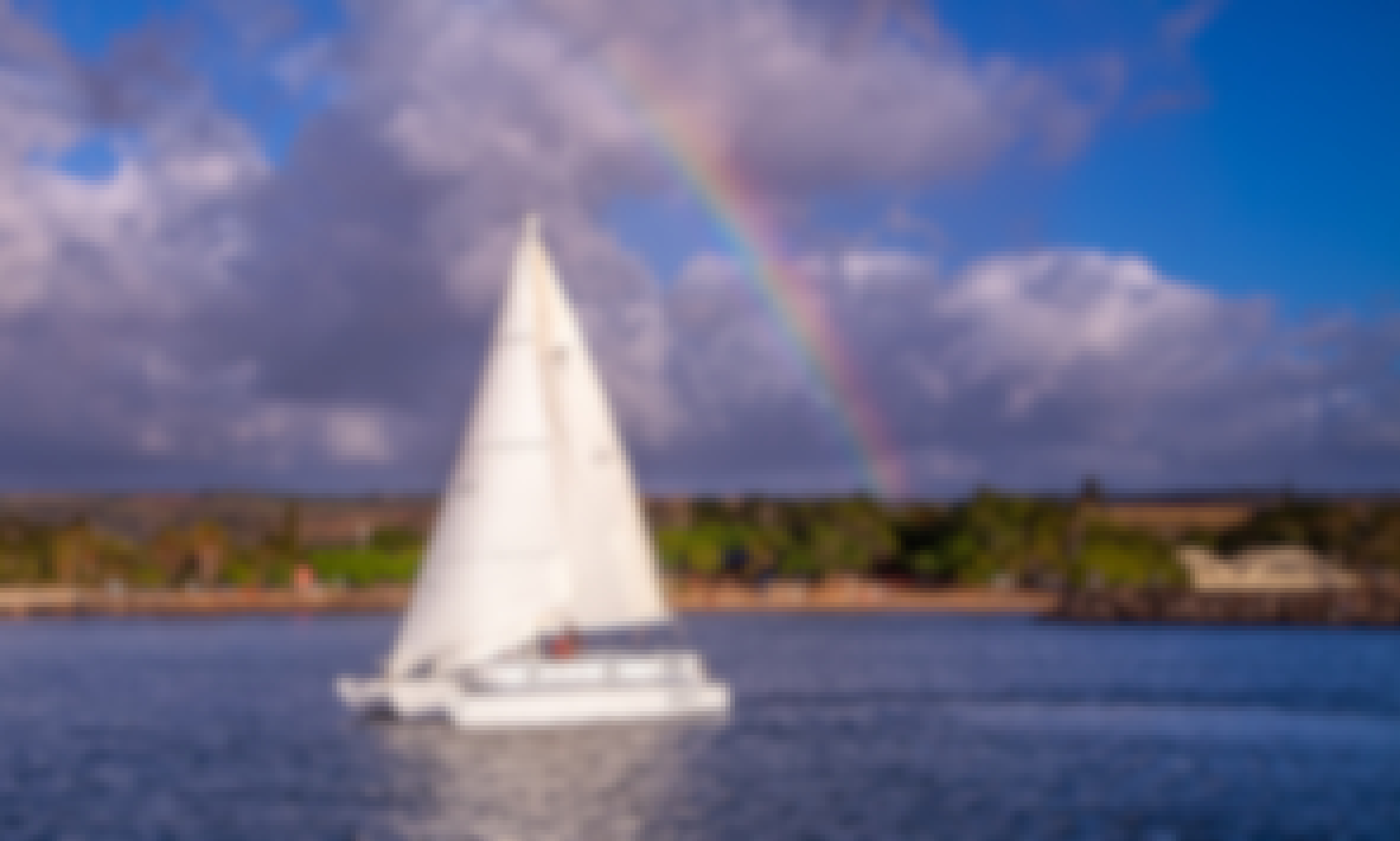 41ft Smooth Sailing Trimaran Charters and Adventures Oahu's North Shore, Haleiwa