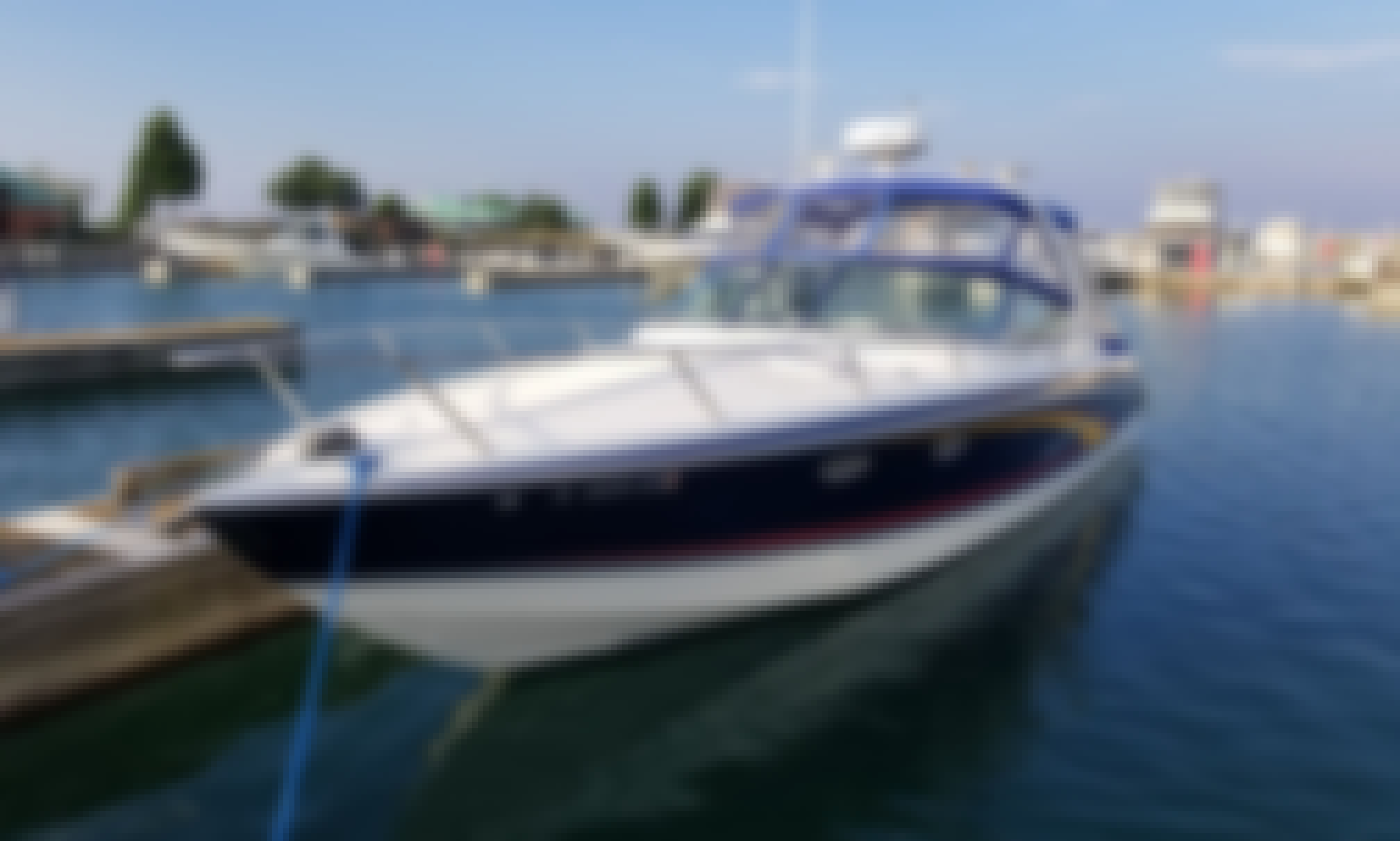 Waukegan Powerboat Charter Aboard Formula 330SS for up to 6 guests