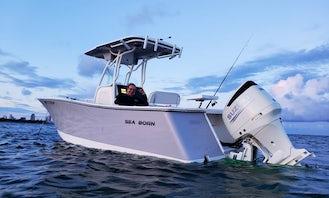 New Sea Born 24' Cruising Boat in Miami Beach!