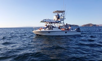 """Exciting Fishing and Boat Trips on 28ft """"La Charanga"""" Angler Boat in Coco, Guanacaste"""