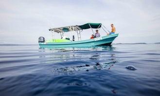 "Fun at the Ocean tours on 28ft ""La Guapa"" Boat in Coco, Guanacaste"
