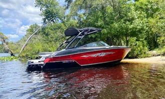 Tubing, Wake Boarding or Just Cruising with a Monterey 218 Super Sport