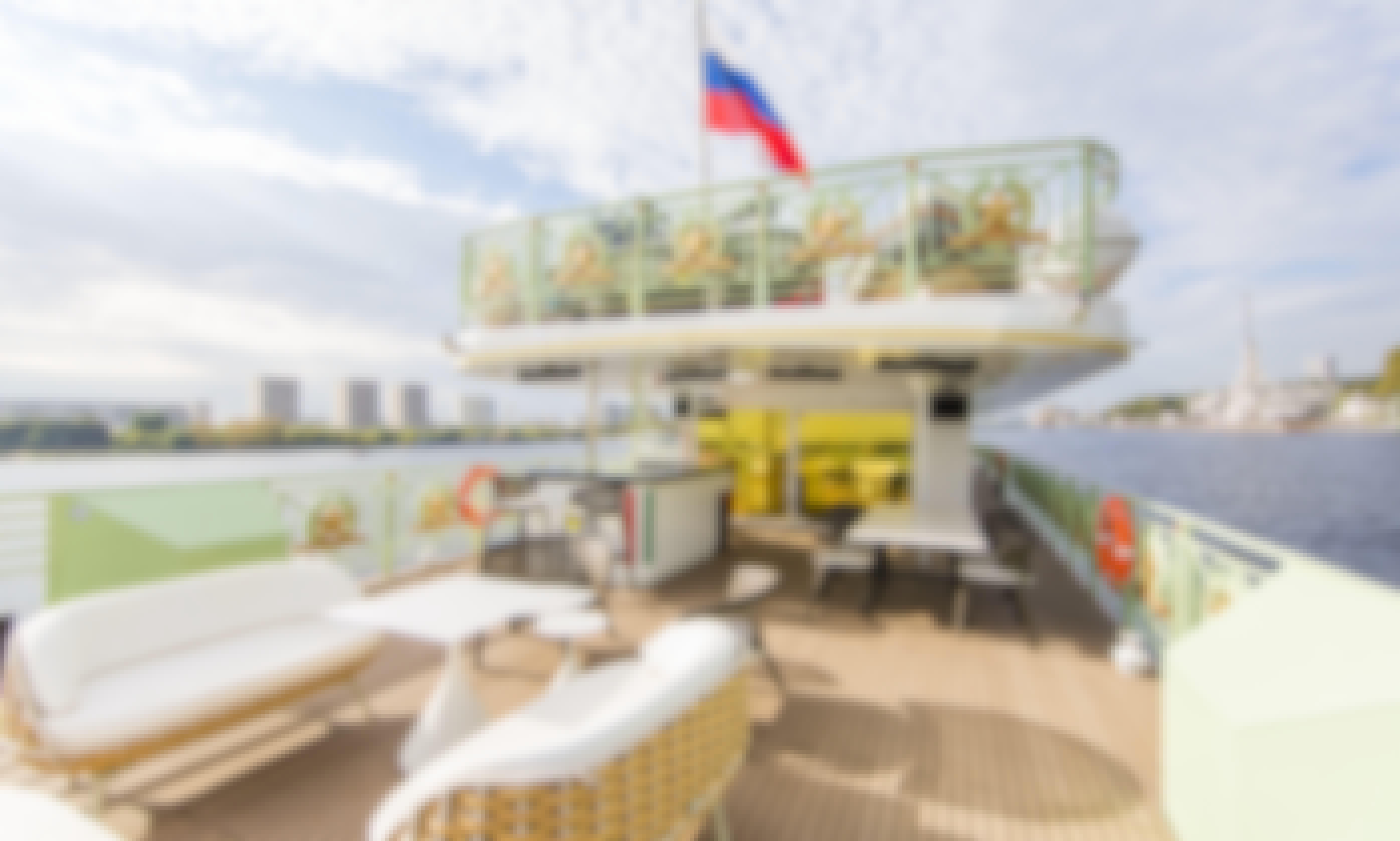 Russian river cruise