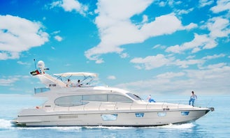 The Best 72Ft Yacht-Prestigious cruise experience in Dubai
