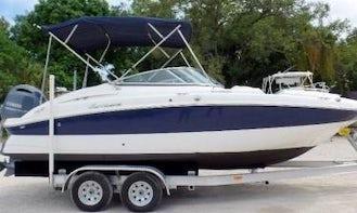 20' Hurricane Deck Boat 150HP - SD2000 Dual Console Model (Anna Maria Island) *Insurance Included*