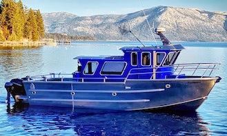 Fishing Charters and Tours! Sportfisher Cabin Walk Around