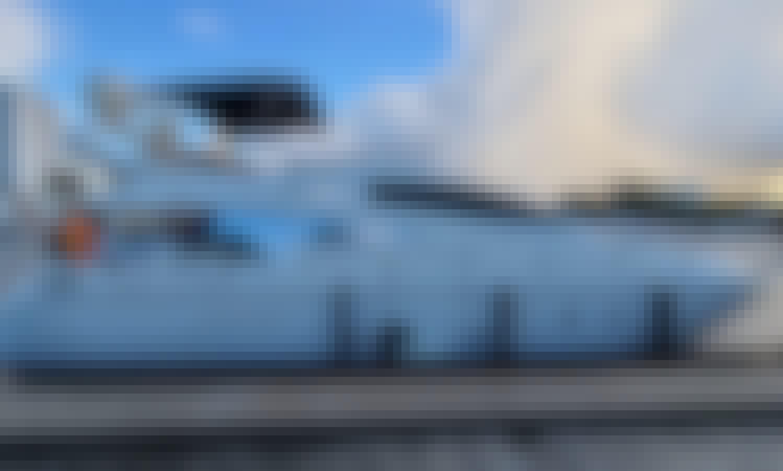 Aicon 60' Luxury Yacht Experience in Miami, Italian Style!!