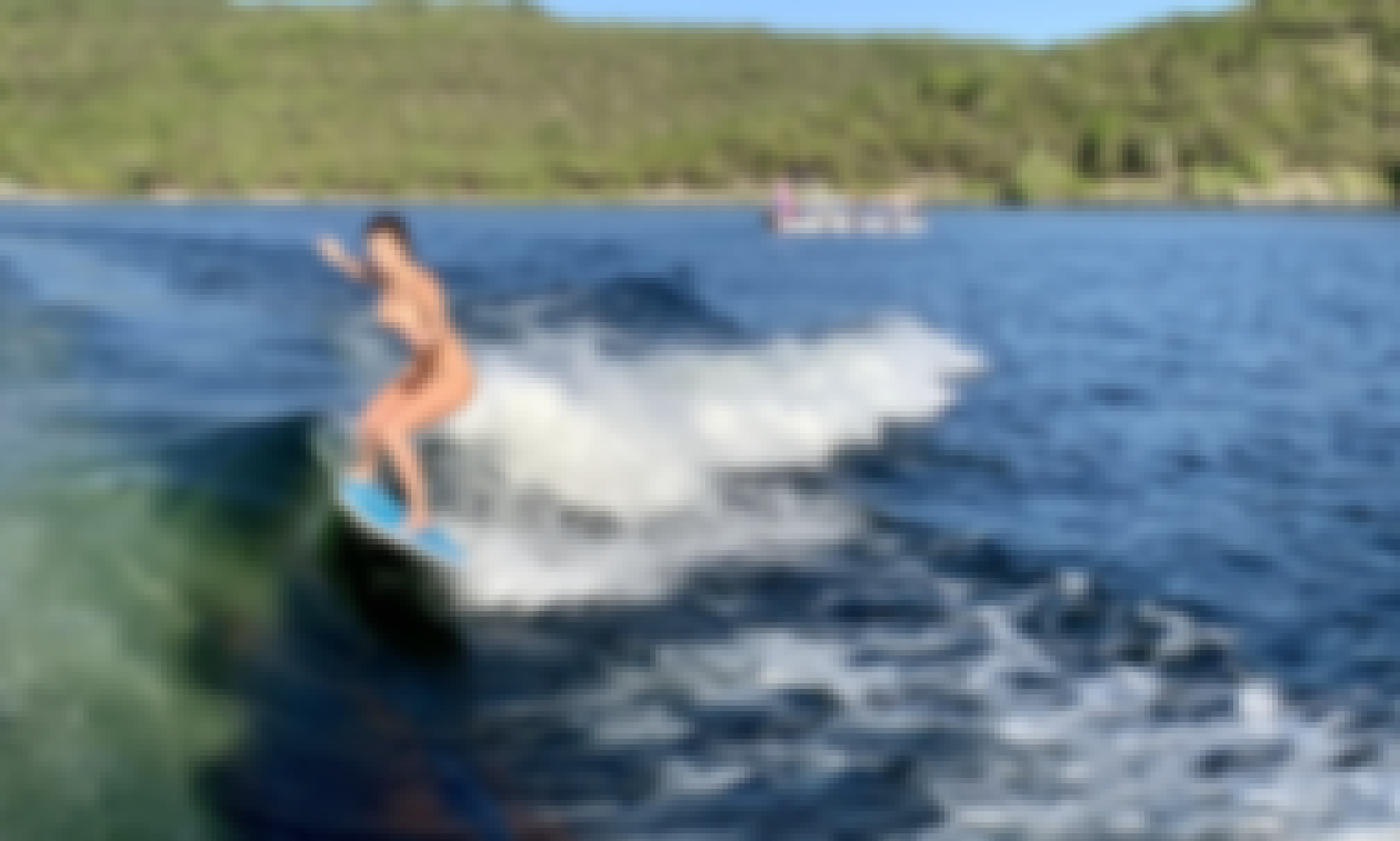 Wakeboard And Surf On Lake Travis!