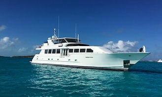 107' Broward Mega Yacht in Nassau, Bahamas