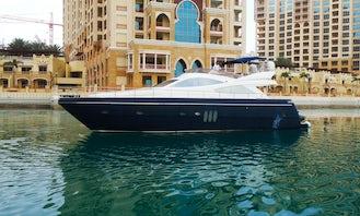 Elegant & Luxury Defined 65ft Yacht in Dubai for Rent