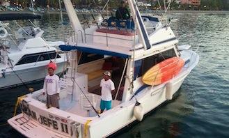 "42ft ""Gran Jefe II"" Sports Fishing Charter Boat in Zihuatanejo, Guerrero"