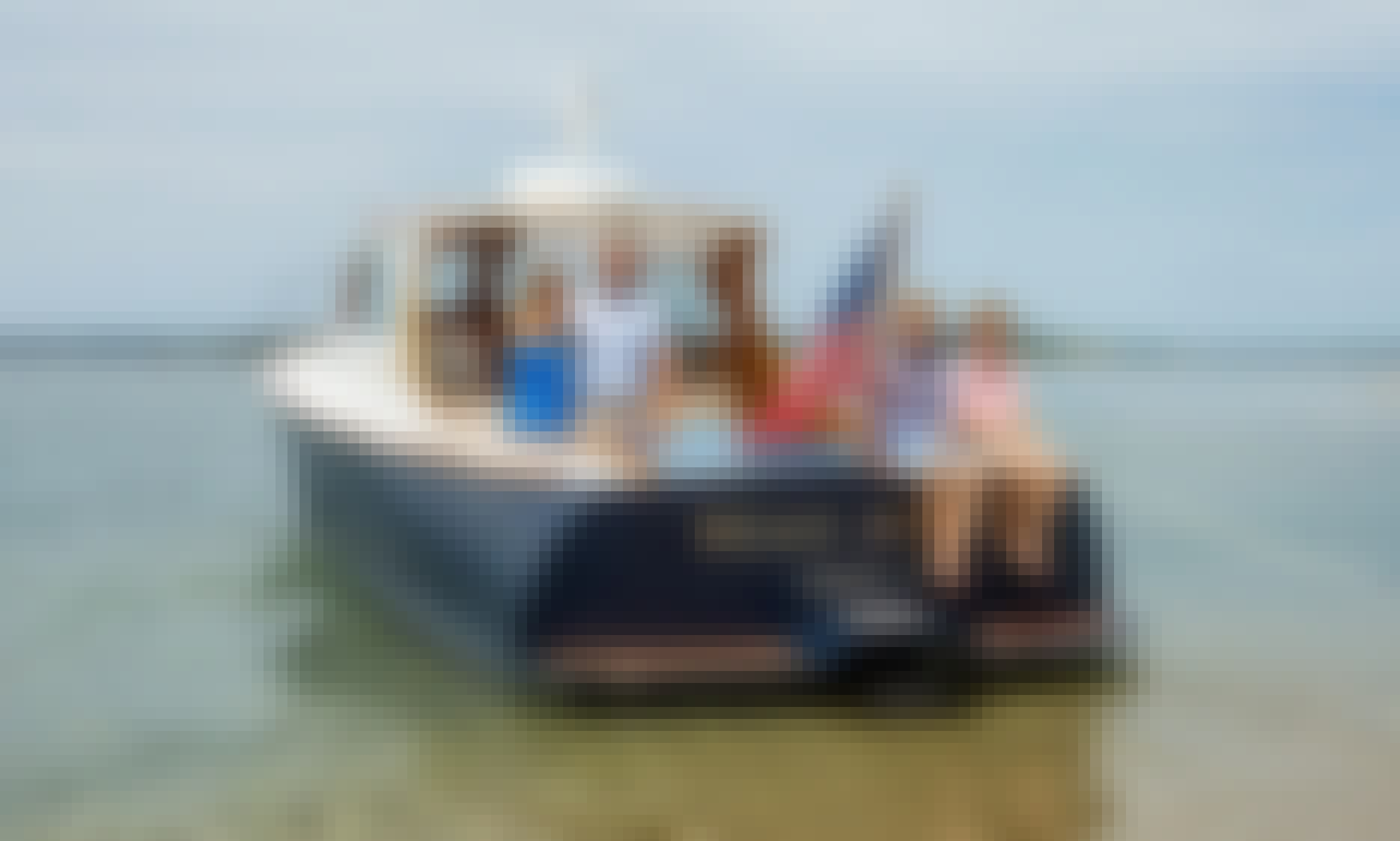 Yacht Charter Tours Around Nantucket, MA Onboard 36' Hinckley Motor Yacht