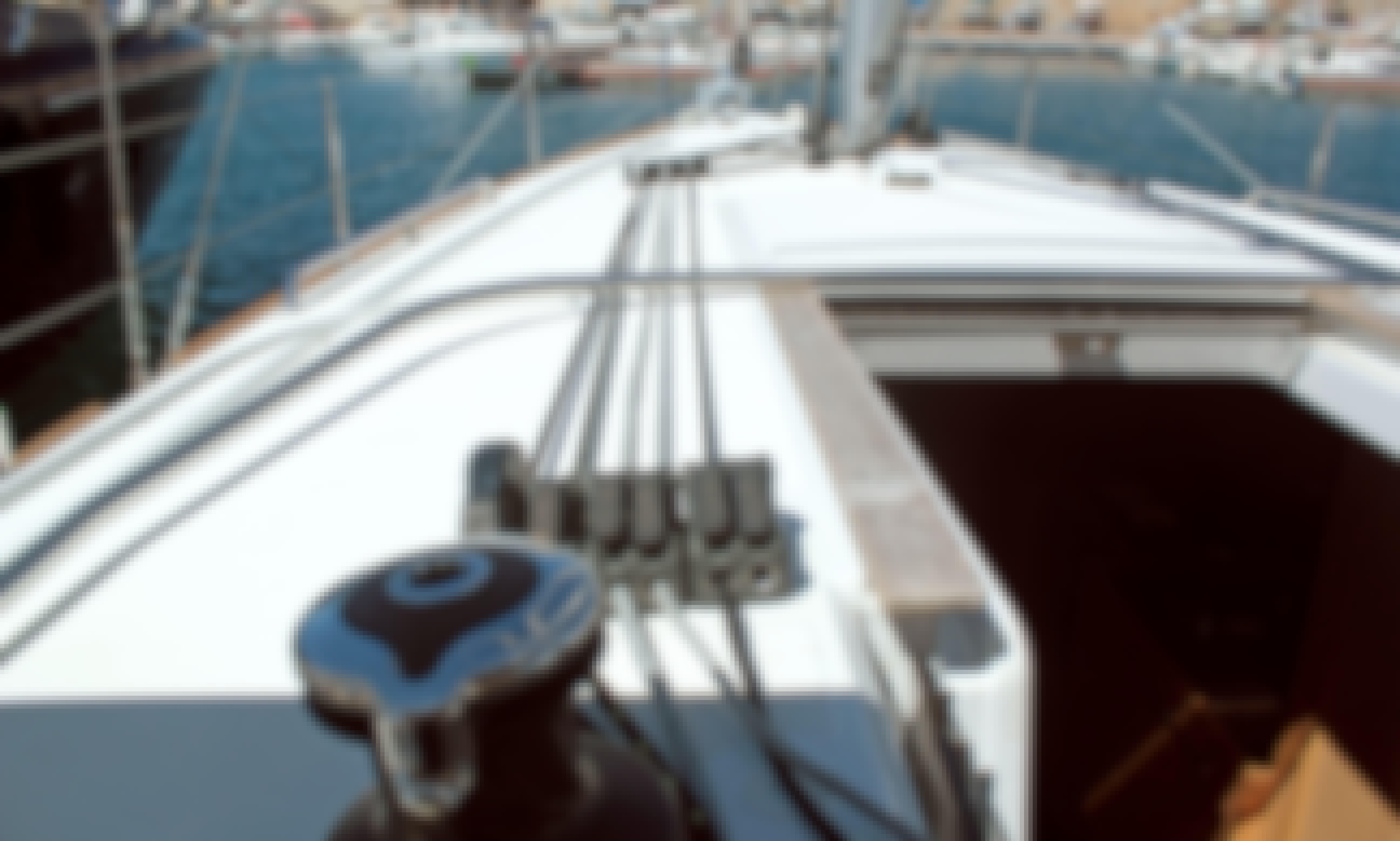 """""""Bohemian Rhapsody"""" Beneteau Oceanis 38.1. Sailing Yacht Charter in Palma, Illes Balears"""