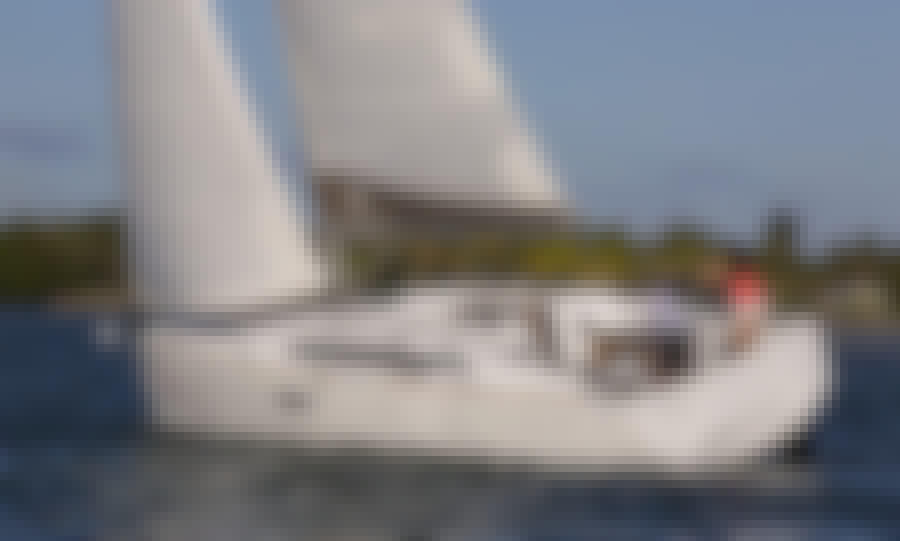 2021 Jeanneau Sun Odyssey 349 Sailing Yacht Charter in Arona, Canarias