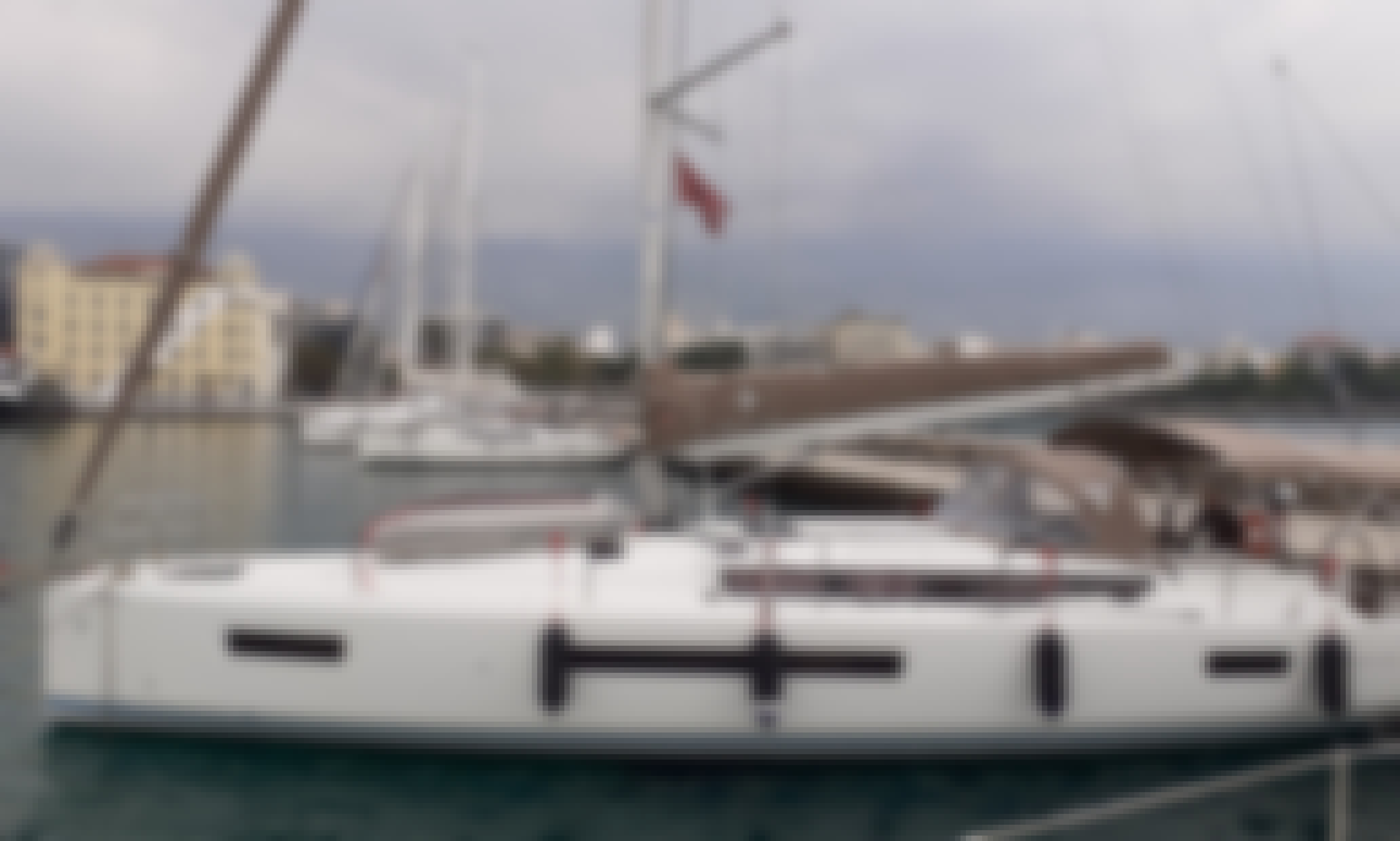 Beand NEW Jeanneau 490!! Greek Sailing Holidays in Volos, Greece