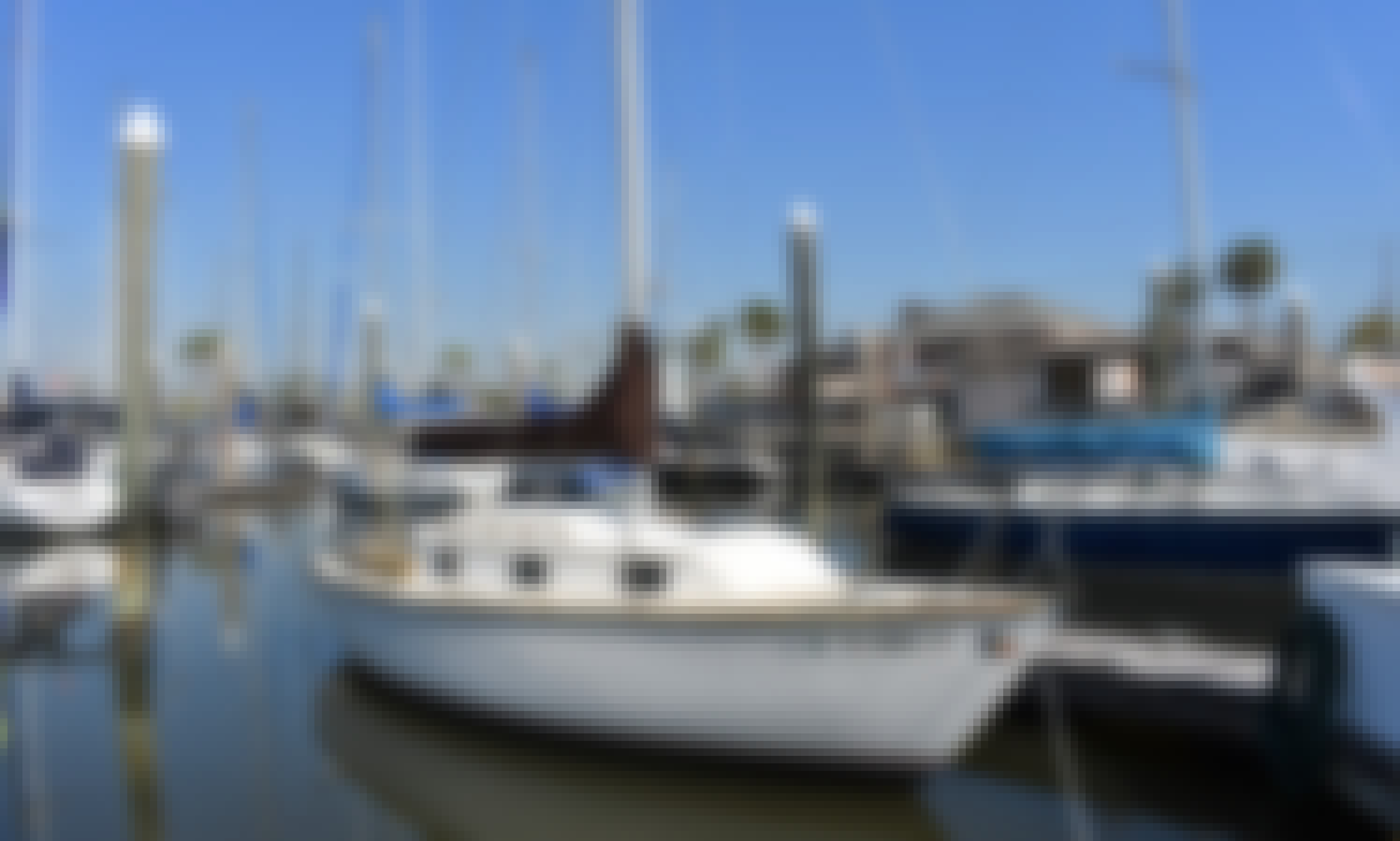 Rent 25ft 'Bonte Koe' Sailboat in Kemah, Texas