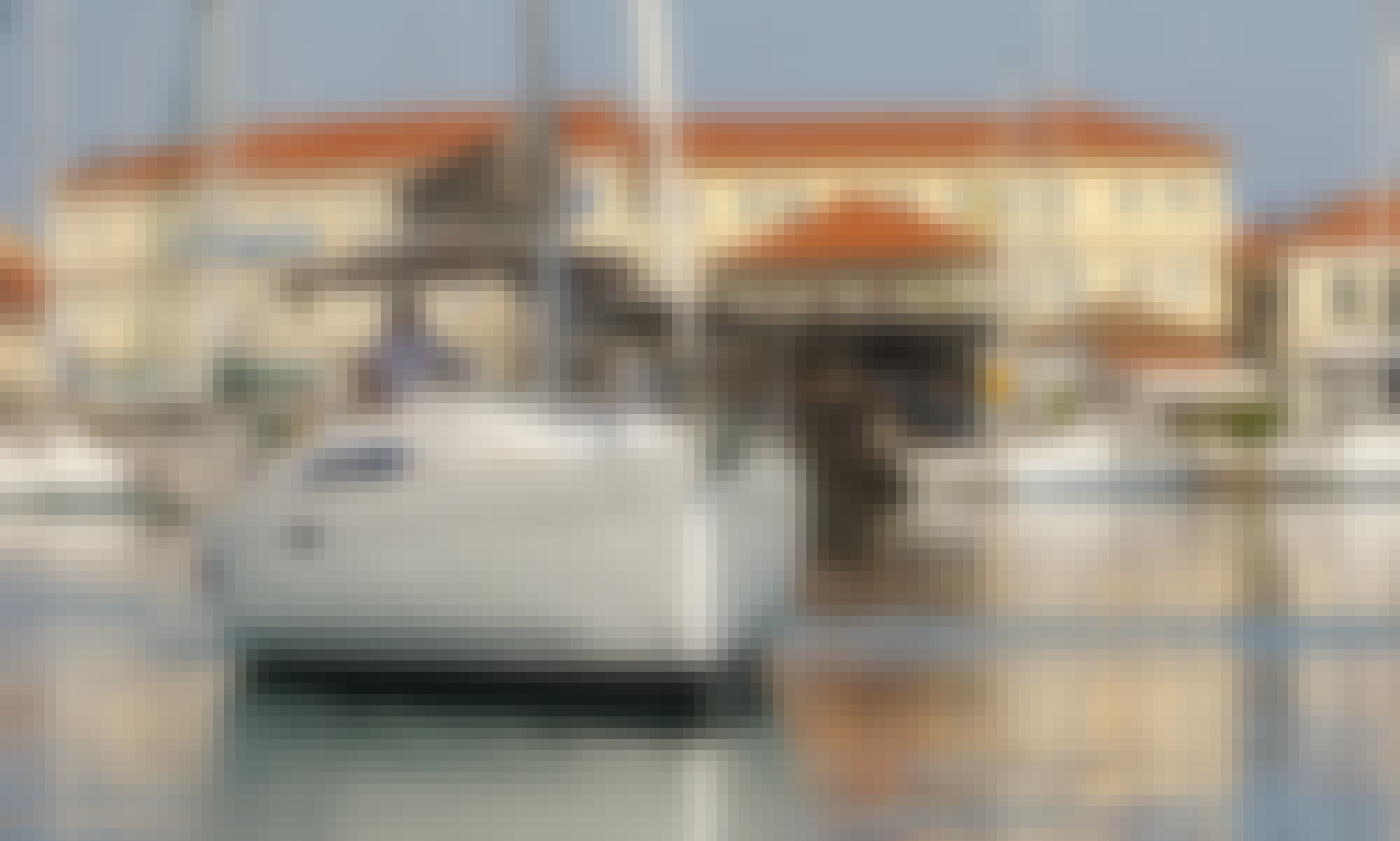"""Charter the Oceanis 34 Sailing Yacht """"Pink Floyd"""" for 6 Perople in Lefkada, Greece"""