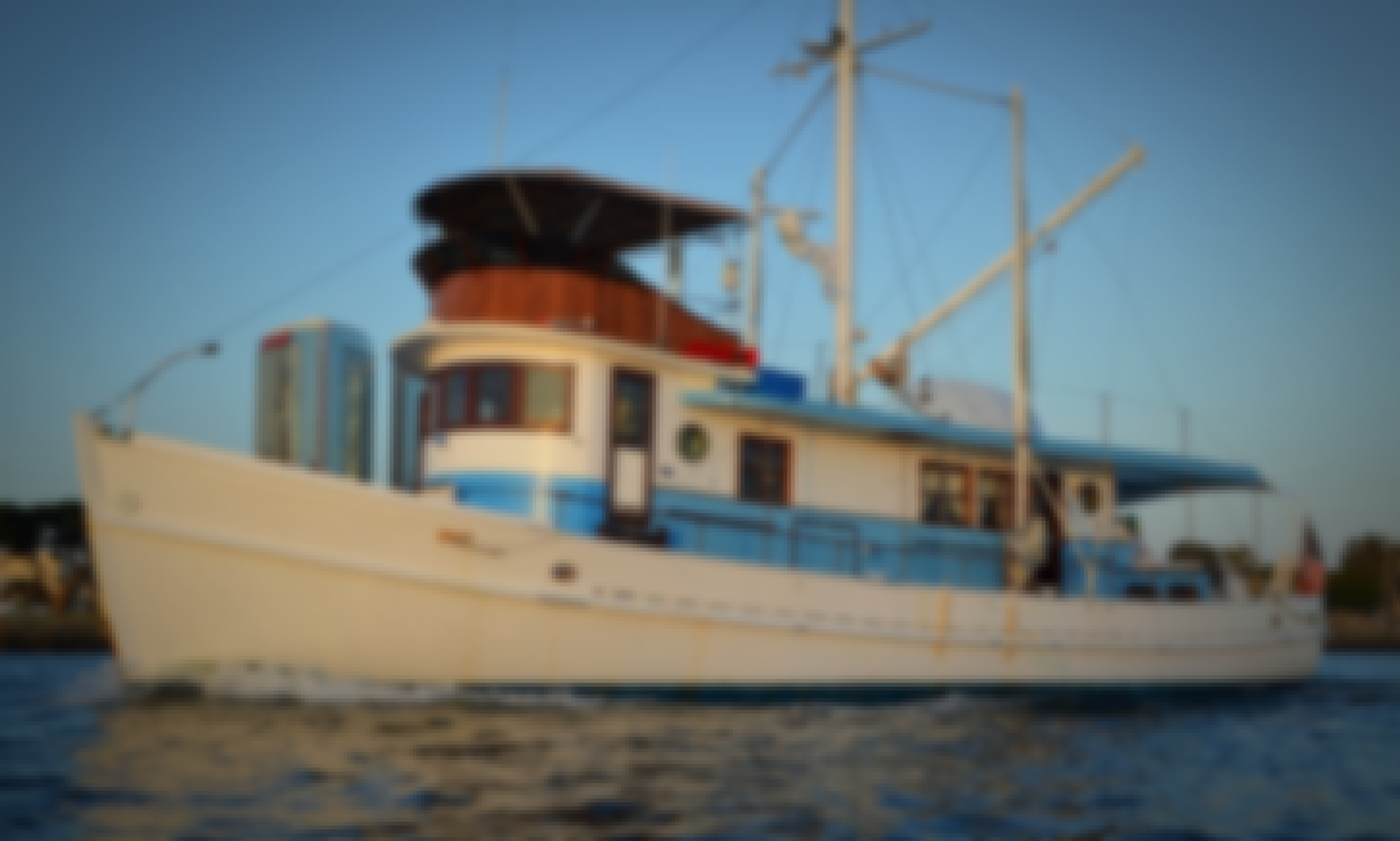 1951 Classic Luxury Motor Yacht in San Diego